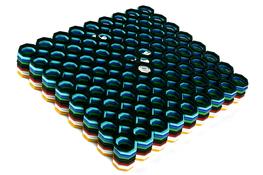 Kratka do zlewu twarda 29 x 25.5 cm - mix kolor