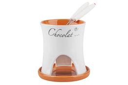 Ceramiczny zestaw do fondue - mix kolorów