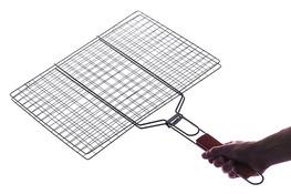 Ruszt do pieczenia mięsa na grillu 40 x 30 cm