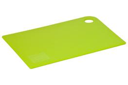 PLAST TEAM Deska kuchenna plastikowa 24.5 x 17.3 x 0.45 cm zielona