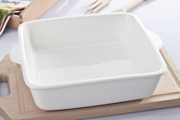 Naczynie porcelanowe żaroodporne do zapiekanek 28 x 24 cm