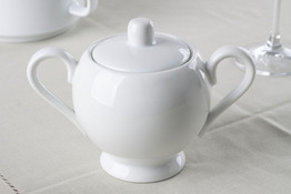 Cukiernica porcelanowa 350 ml biała