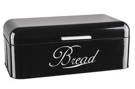 Chlebak stalowy RETRO czarny połysk