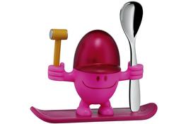 WMF Kieliszek na jajko MCEGG PINK z łyżeczką
