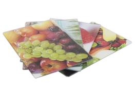 Deska kuchenna szklana 30 x 40 cm - mix wzorów