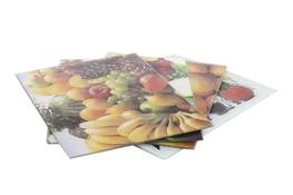Deska kuchenna szklana 20 x 30 cm - mix wzorów
