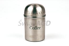 Pojemnik na kawę ze stali nierdzewnej
