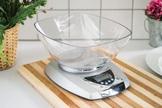VINZER Waga kuchenna elektroniczna srebrna 5 kg