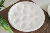 WARMEL Taca, półmisek okrągły do jajek