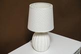 Lampka nocna biała h - 26.5 cm
