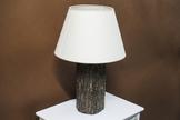 Lampka nocna kremowa h - 46 cm