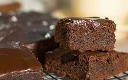 Przepis na zdrowe fit Brownie