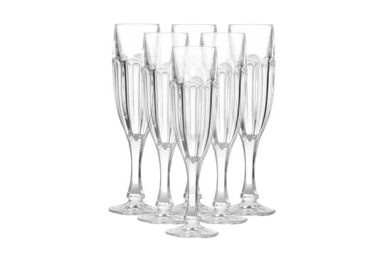 BOHEMIA SAFARI Kieliszki do szampana 150 ml 6 szt.
