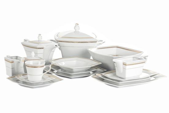 ĆMIELÓW LWÓW NELL Serwis obiadowy i herbaciany 84/12 E400