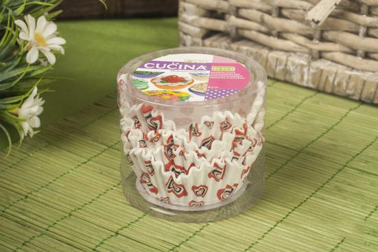 Koopman La Cucina papilotki do muffinek, babeczek 80 szt. - mix wzorów