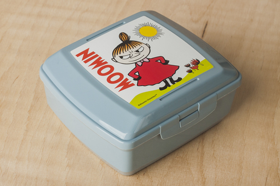 BranQ pojemnik śniadaniowy 0.85 L Muminki - mix wzorów