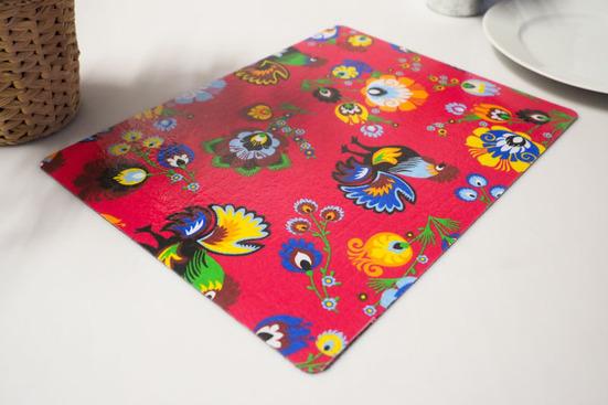 WARMEL Mata na stół prostokątna 49 x 30 cm  - mix wzorów