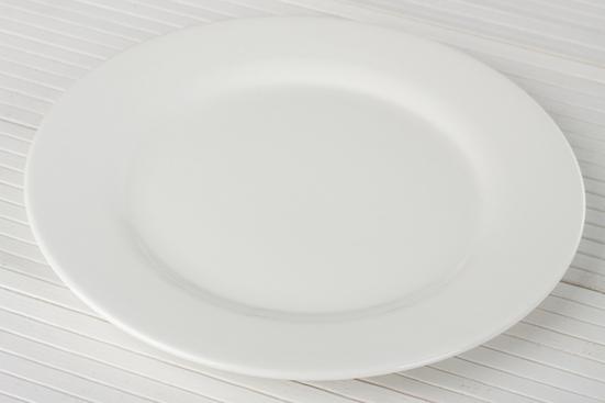 Talerz płytki porcelanowy 25.5 cm SUPERPROMOCJA