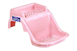 WARMEL Plastikowa mydelniczka na wannę - mix kolorów