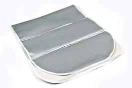 Pokrowiec metalizowany na deskę do prasowania 140 x 50 cm