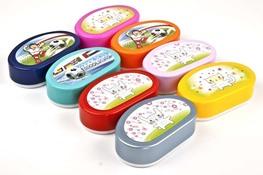 Lunchbox, pojemnik na śniadanie - mix kolorów