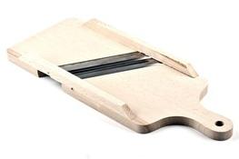 AAA Szatkownica drewniana z 2 ostrzami 36 x 14 cm
