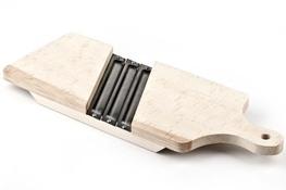 AAA Szatkownica drewniana z 3 ostrzami 42 x 16 cm