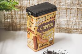 Puszka metalowa na kawę - mix wzorów