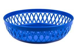 Koszyk do chleba okrągły 22 cm - mix kolorów