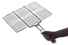 Ruszt do pieczenia mięsa na grillu 40 x 31 cm