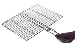 Ruszt do pieczenia mięsa na grillu 40 x 32 cm