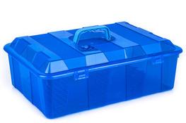 HEGA Pojemnik HAMBURG z rączką i kratką 7 L - mix kolorów