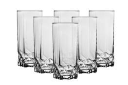Szklanki long drink DIAMOND 325 ml 6 sztuk