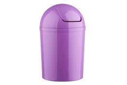 PLAFOR Kosz na śmieci uchylny 15 L fioletowy