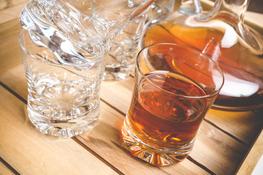 KROSNO PRESTIGE AQUARIUS Szklanki do whisky 250 ml 6 sztuk