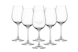 BOHEMIA VIOLA Kieliszki do wina 350 ml 6 sztuk