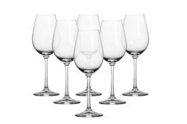 BOHEMIA VIOLA Kieliszki do białego wina 250 ml 6 sztuk