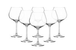 BOHEMIA VIOLA Kieliszki do wina 570 ml 6 sztuk