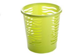 BRANQ ZEBRA Kosz na śmieci biurowy 10 L zielony