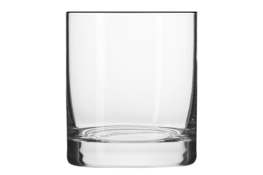 KROSNO BASIC GLASS Szklanki do whisky 250 ml 6 sztuk