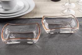 WALTHER GLAS WINX ORANGE Salaterka 15.5 cm zestaw 2 sztuk