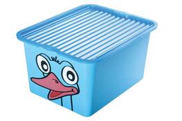 BRANQ C-BOX Skrzynia, pojemnik na zabawki 27 L - mix wzorów