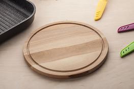 AAA Deska kuchenna drewniana okrągła 25 cm