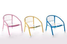 Krzesełko dziecięce piszczące - mix kolorów