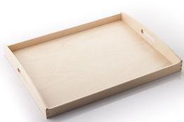 AAA Taca kuchenna drewniana 50 x 40 cm - mix kolorów