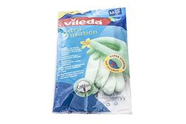 VILEDA Rękawice gumowe  EXTRA SENSATION  rozmiar M
