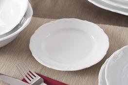 MARIA TERESA Porcelana gastronomiczna Talerz deserowy 18.5 cm 0000