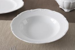 MARIA TERESA Porcelana gastronomiczna Talerz głęboki 22.5 cm 0000