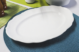 MARIA TERESA Porcelana gastronomiczna Półmisek owalny 33 x 22.5 cm C000