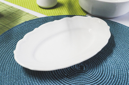 MARIA TERESA Porcelana gastronomiczna Półmisek owalny 22.5 x 14.5 cm
